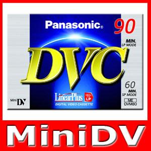 Panasonic-mini-DV-Kassette-Cassette-Cassette-miniDV-NEU