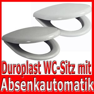 duroplast toilettendeckel kindersitz wc sitz brille absenkautomatik klobrille ebay. Black Bedroom Furniture Sets. Home Design Ideas