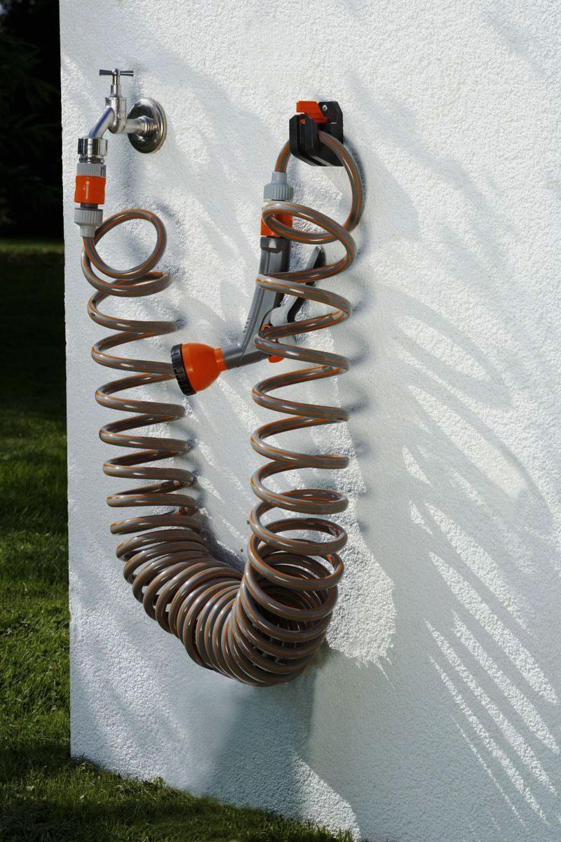 gardena spiralschlauch set 6 tlg 10m gartenschlauch wasserschlauch schlauch ebay. Black Bedroom Furniture Sets. Home Design Ideas