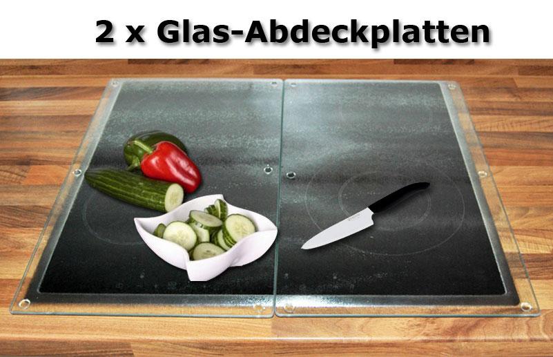 set xxl glasplatten 52x30cm glasschneideplatte schneideplatten herdabdeckplatten ebay. Black Bedroom Furniture Sets. Home Design Ideas