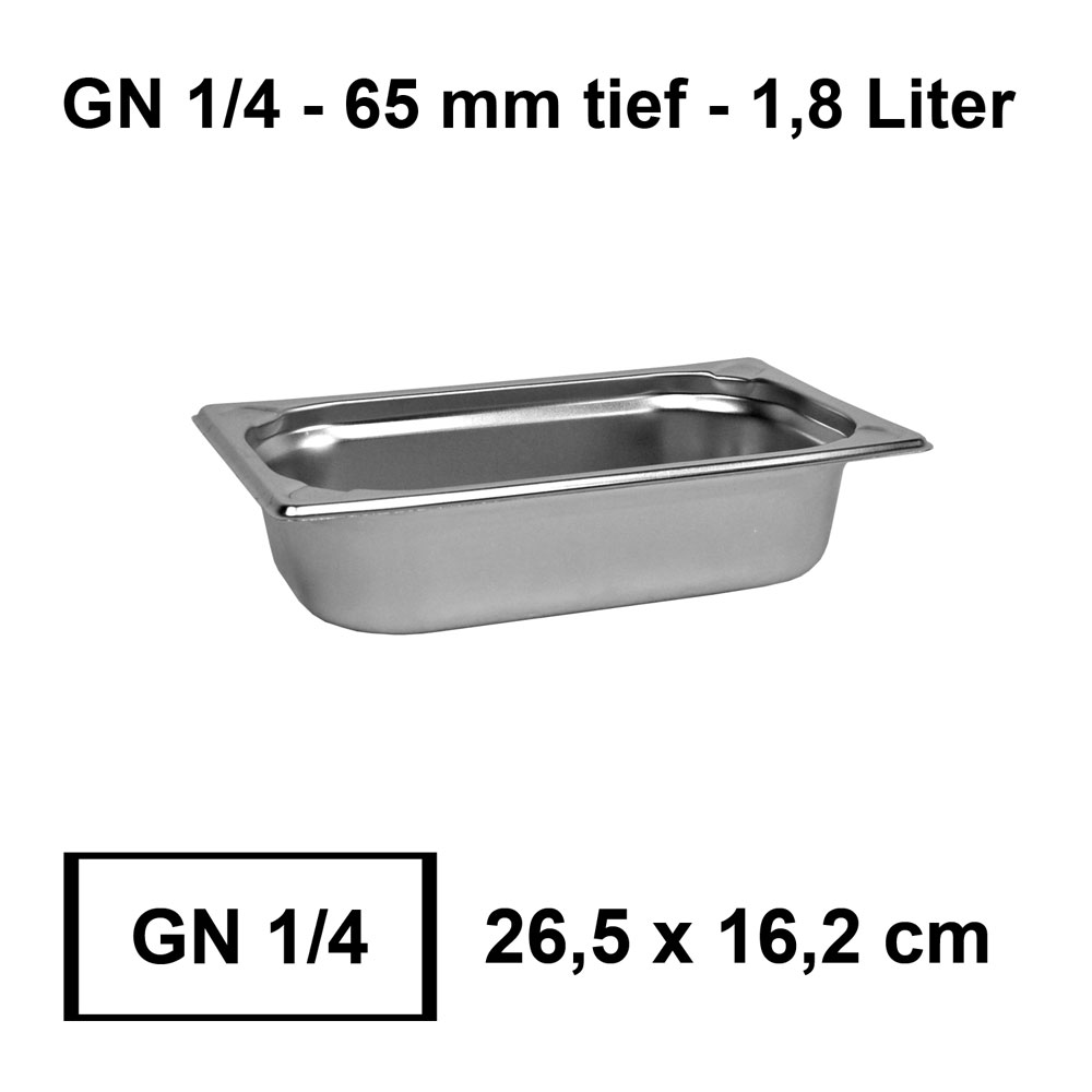 GN 1//3 Behälter 65mm 325x176mm Gastronormbehälter Chafing Warmhaltebehälter