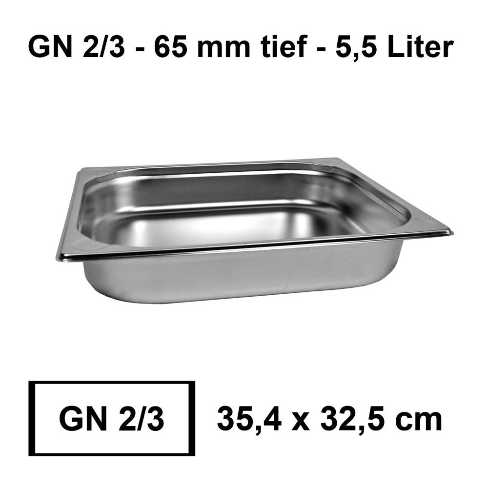 GN Bain Marie Behälter Gastronormbehälter 1//4 Edelstahl Behälter 20 mm NEU