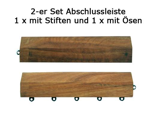 2 x holzfliesen fliesensystem holzfliese terrassenfliesen. Black Bedroom Furniture Sets. Home Design Ideas