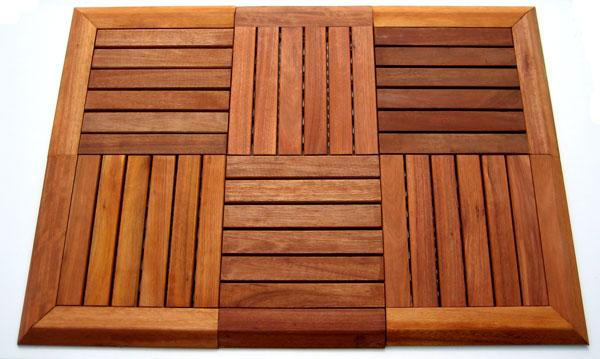 2 x eucalyptus holzfliesen fliesensystem holzfliese. Black Bedroom Furniture Sets. Home Design Ideas