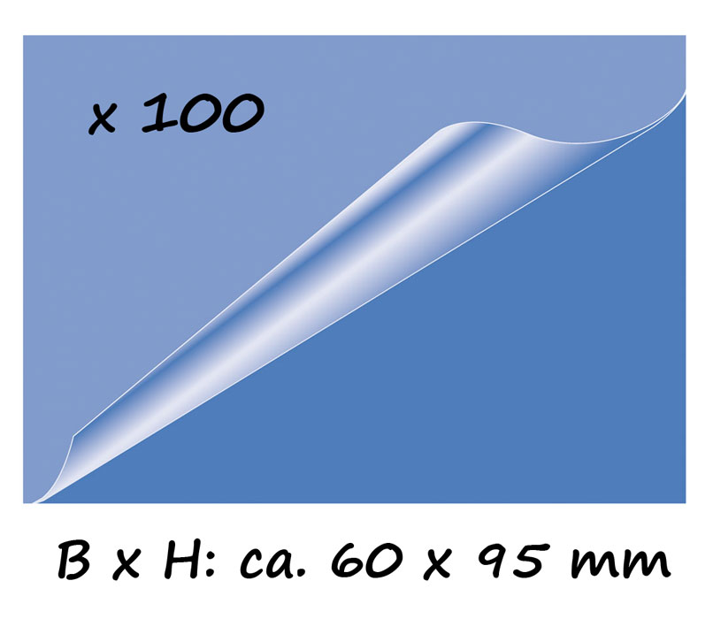 Details Zu 100 X Olympia Laminierfolien Für Visitenkarten 60x95mm Folien Laminieren