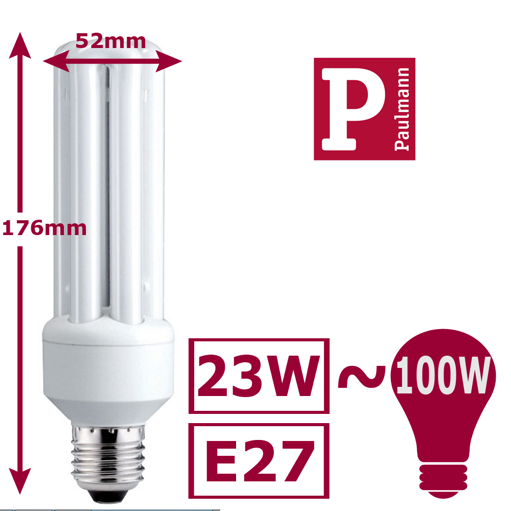 paulmann energiesparlampen e14 e27 11w 23w 25w sparlampe sparleuchte leuchte ebay. Black Bedroom Furniture Sets. Home Design Ideas