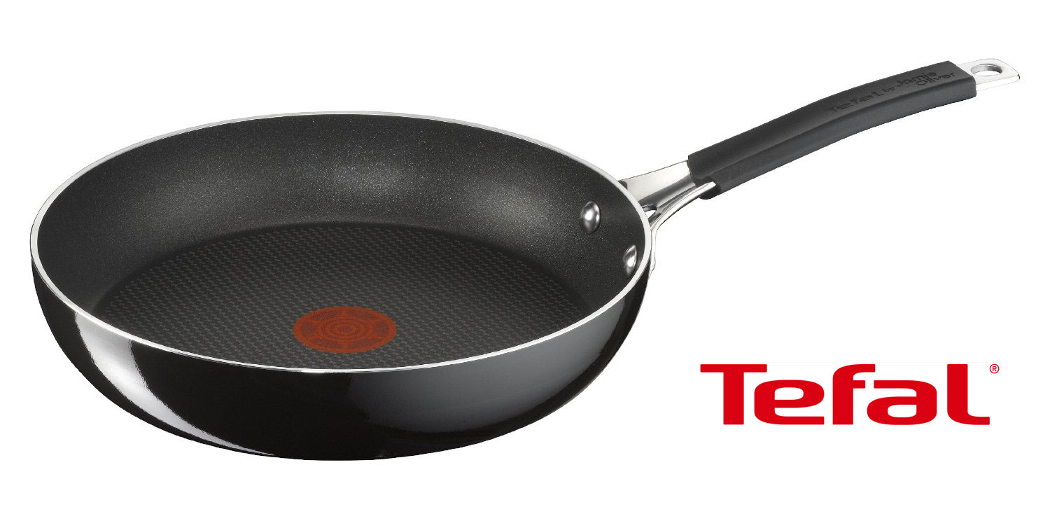 tefal 20 cm jamie oliver pfanne tefal e60402 emaillierte bratpfanne ebay. Black Bedroom Furniture Sets. Home Design Ideas
