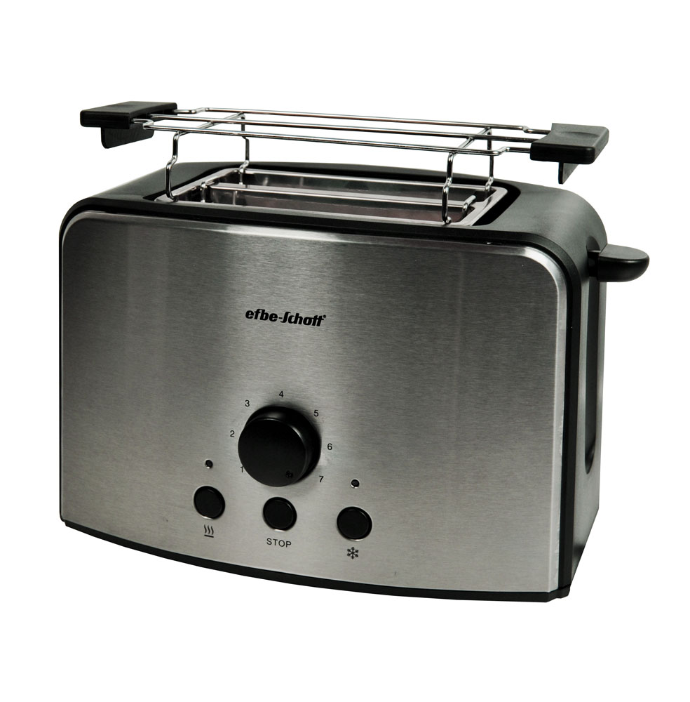 design edelstahl toaster kompakt toaster br tchenaufsatz toastlift br unungsgrad ebay. Black Bedroom Furniture Sets. Home Design Ideas