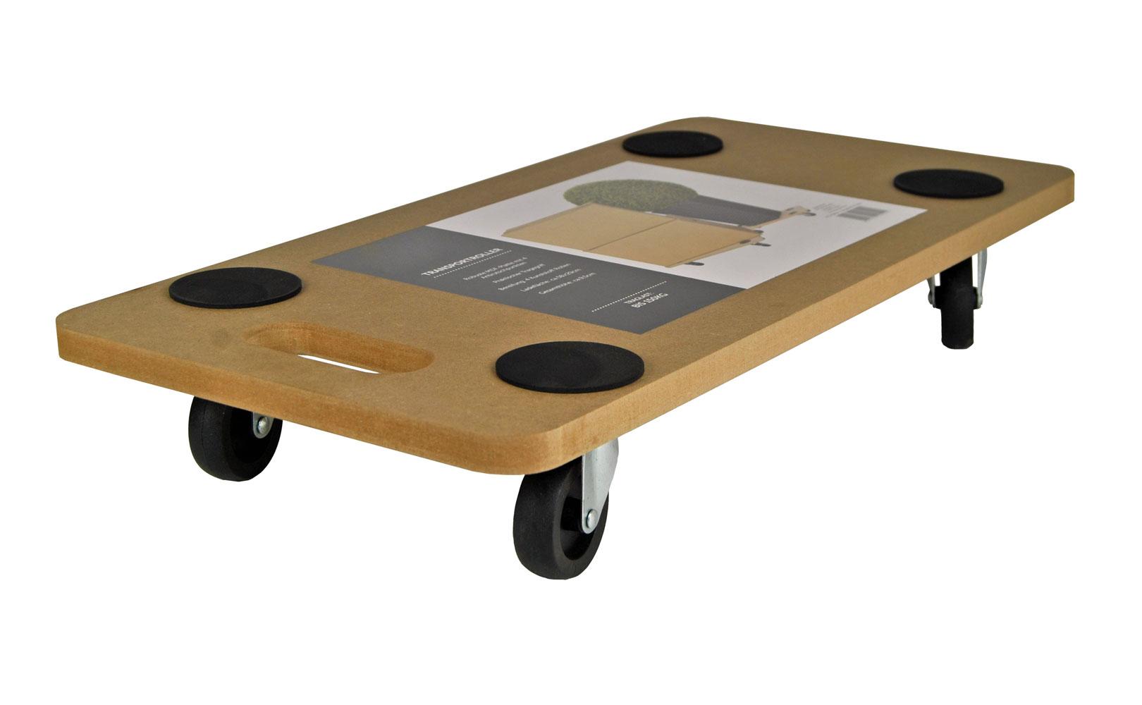 transportroller mit antirutschpunkten 58x29 rollbrett transportbrett m belroller 4057984005541. Black Bedroom Furniture Sets. Home Design Ideas